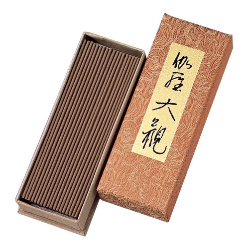 日本香堂 熏香系列 伽羅大観 玫瑰花  40克/盒 (赠送香立1枚)