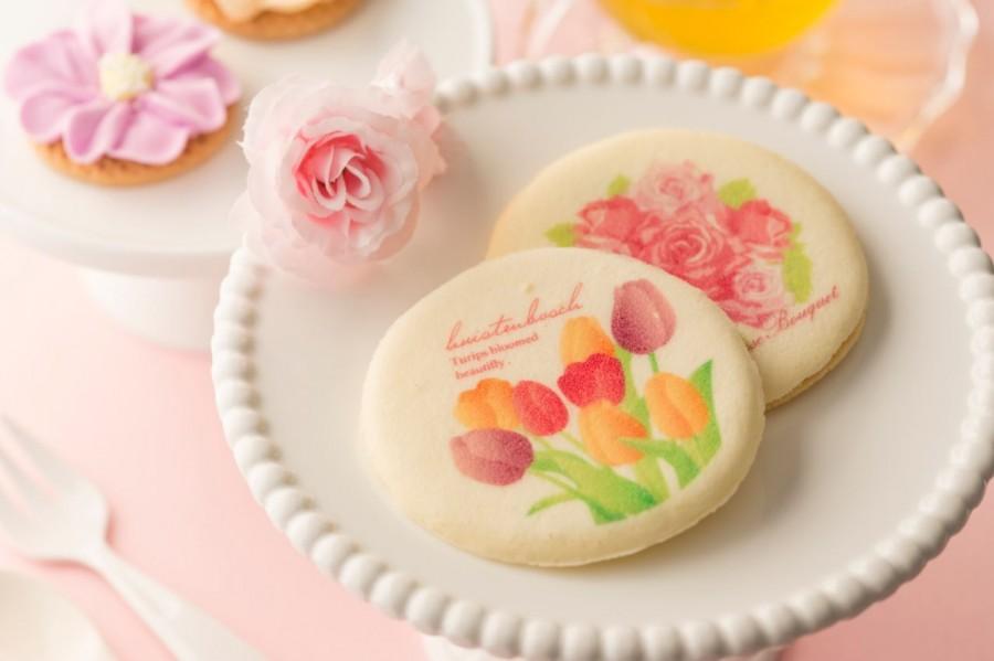 花的王国 5枚装薄饼干