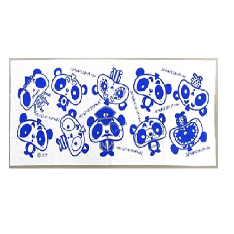 Baby Nicopanda 布手巾 蓝色