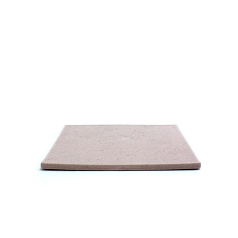 粉色陶板盘