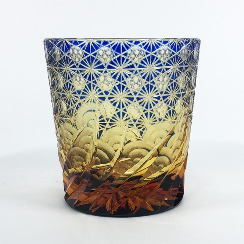 涟SAZANAMI蓝色(玻璃杯)