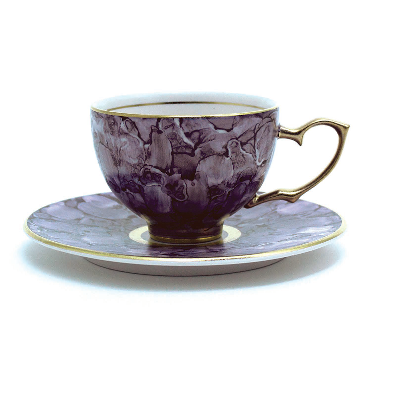 Royal Azei皇家杉石大理石系列茶杯&茶托