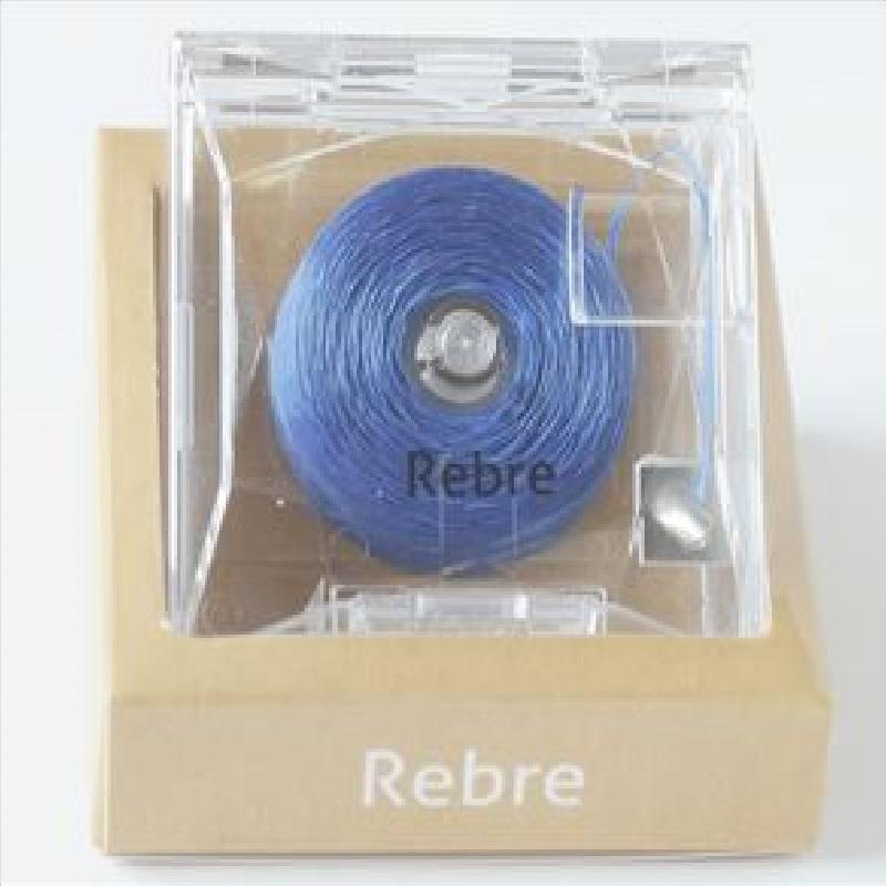 Rebre蓝色卷式香水牙线佛手+柠檬味50米