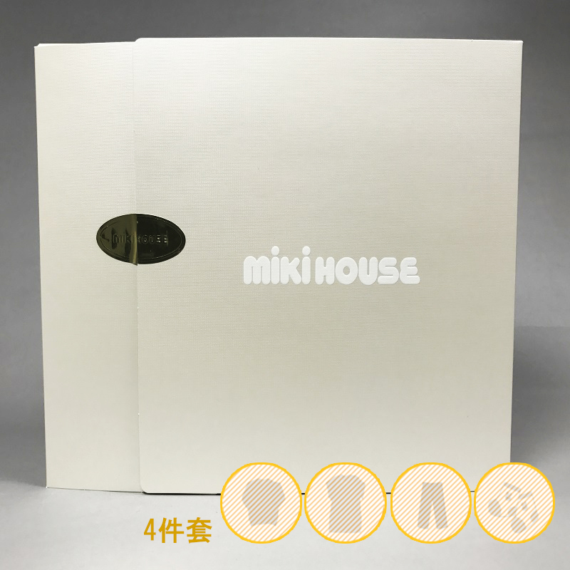 [MIKIHOUSE推荐搭配礼盒套装] 男女童80cm 4件套