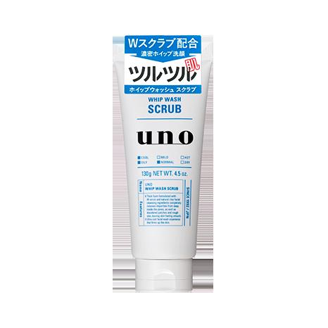 资生堂 吾诺(UNO)泡沫洗净磨砂颗粒 一箱(36个装)