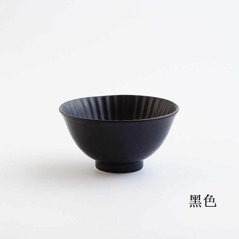 波佐见烧   茶碗(大)黑色