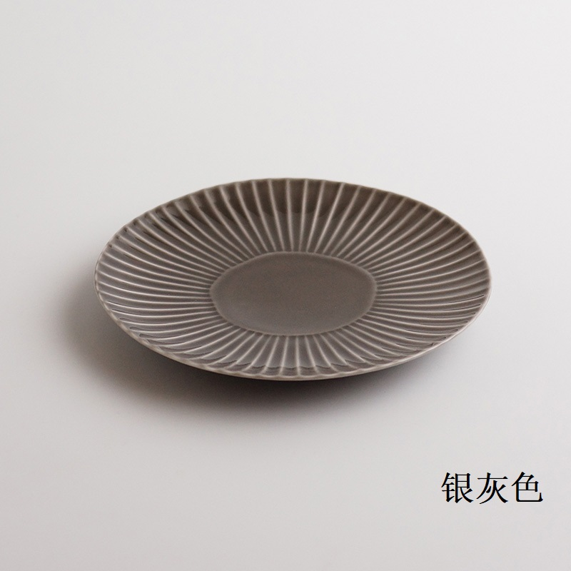 波佐见烧  镐(shinogi) - 盘子(中)