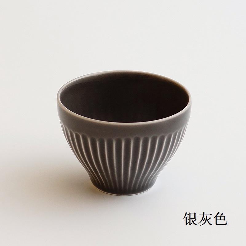波佐见烧 仙茶碗 银灰色