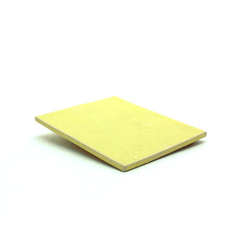 黄水晶陶板盘