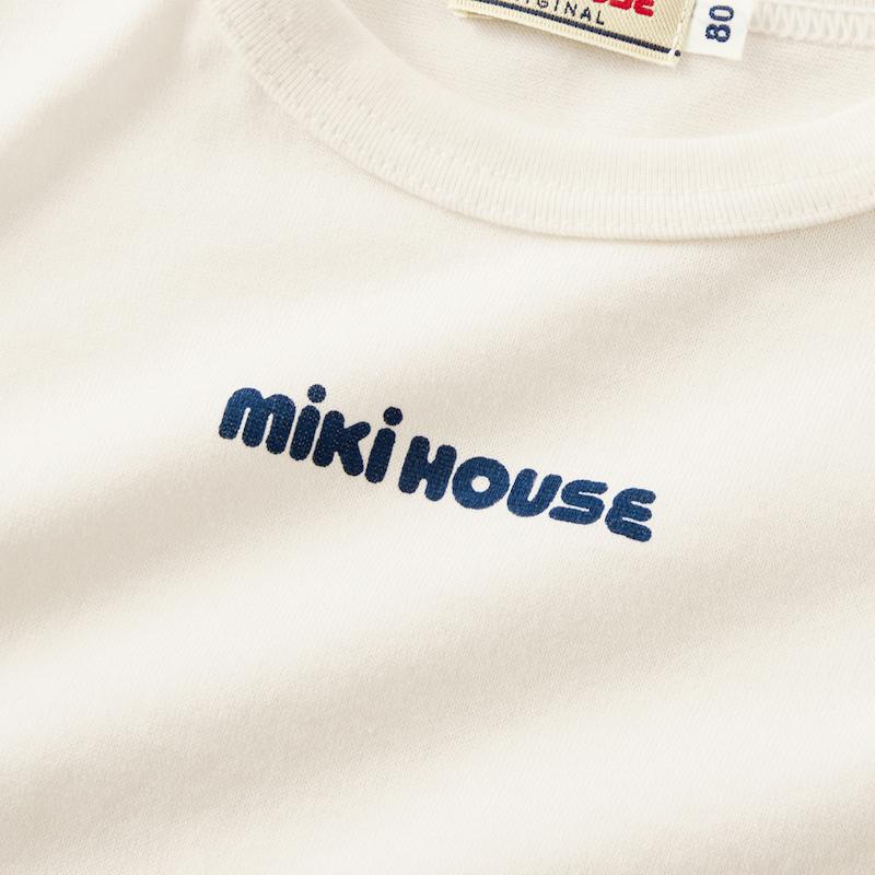 MIKIHOUSE经典纯棉多色长袖T恤