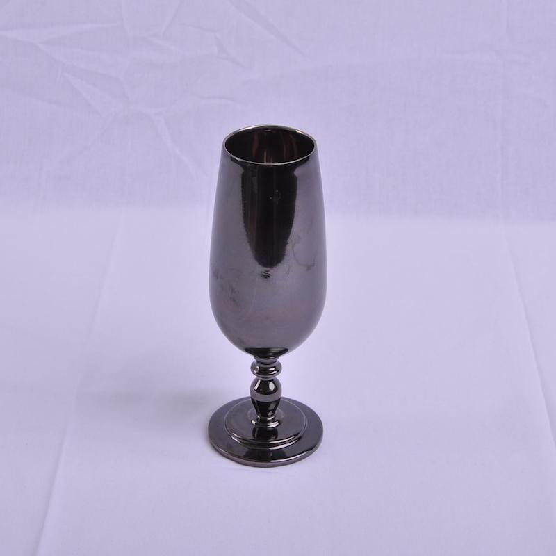 黑水瓷香槟杯