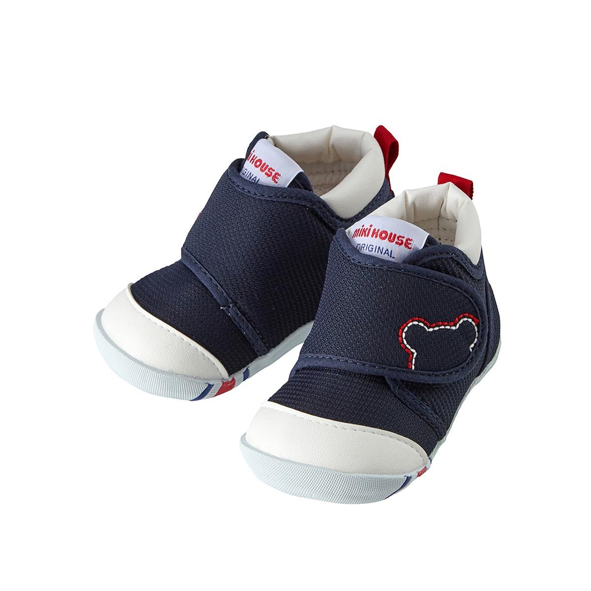 日本制MIKIHOUSE经典一段学步鞋 获奖鞋明星同款(3色)