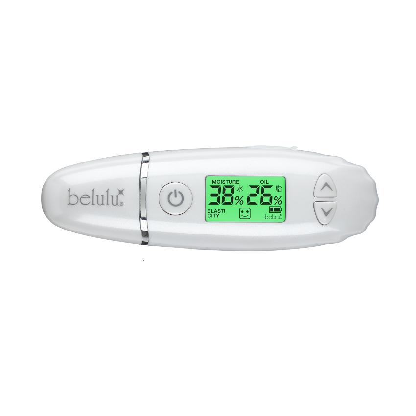 belulu 皮肤测试仪 日本脸部智能肌肤水分油分检测仪荧光剂检测笔