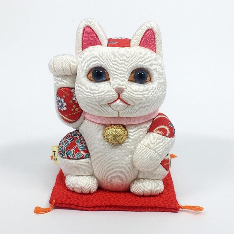 招财猫(小)「白色」