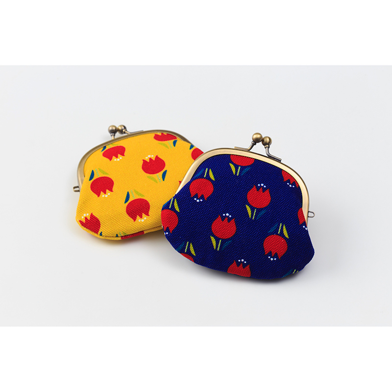 AYANOKOJI×豪斯登堡 蛙嘴式郁金香花纹钱包