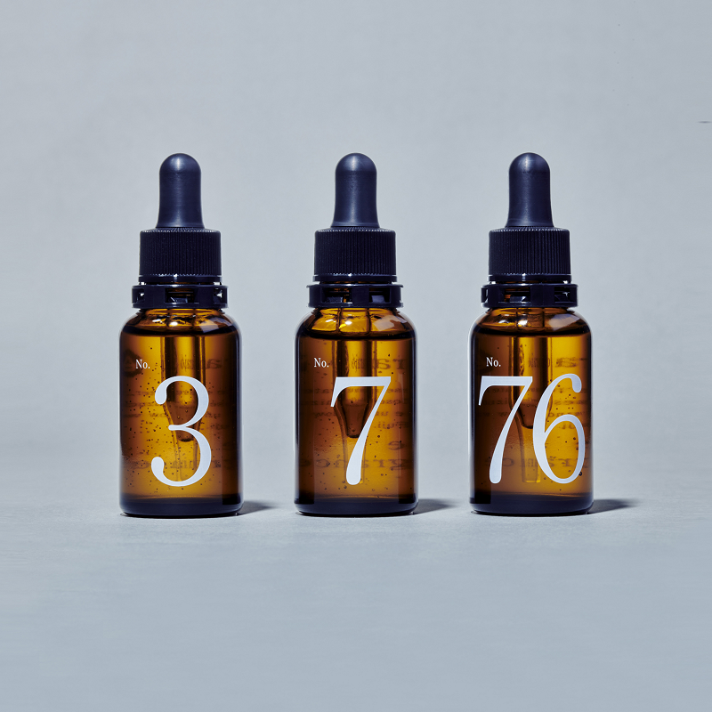 baraio玫瑰香氛凝胶精华3瓶套装(3号/7号/76号)