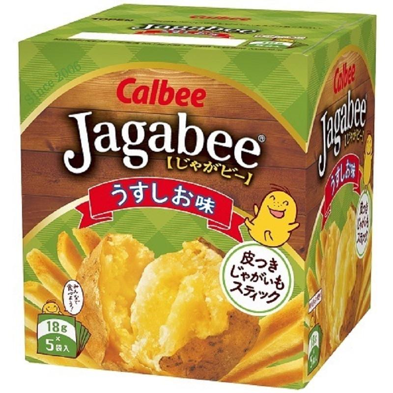 Jagabee【卡乐比】 淡盐味 两盒实惠装