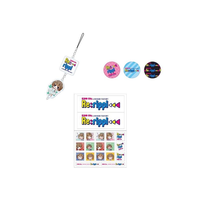 【Re;rippi】亚克力钥匙圈&胸章&贴纸套装