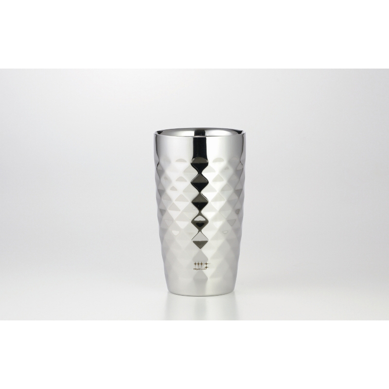锤炼屋 二重构造啤酒保温杯370ml(钻石切割工序)