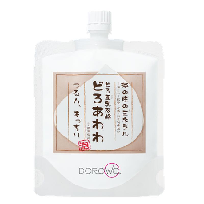 KENKOU CORPORATION海泥豆乳泡沫石碱洁面膏 110g(附加起泡沫网)