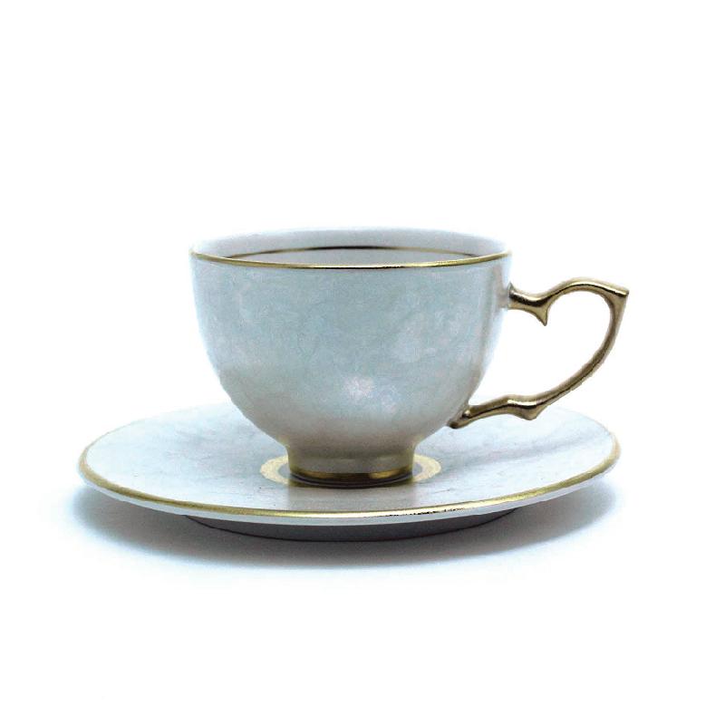 珍珠瓷茶杯&茶托