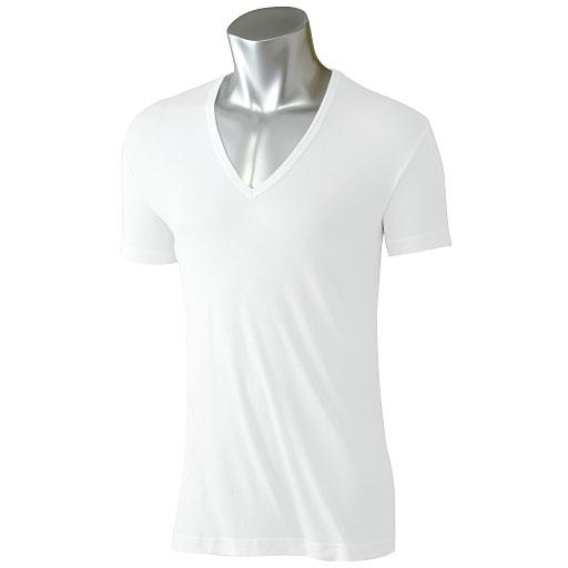 塞诗丽(CECILE) SmartDry 男士除汗、抗菌防臭,半袖深V领T恤