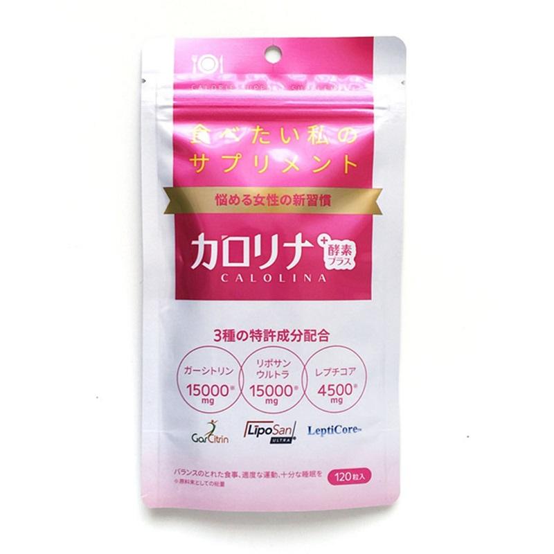 日本EC STUDIO calolina小剪刀酵素胶囊 120粒