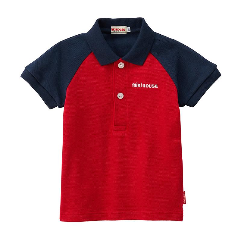 日本制MIKIHOUSE经典彩色Polo衫