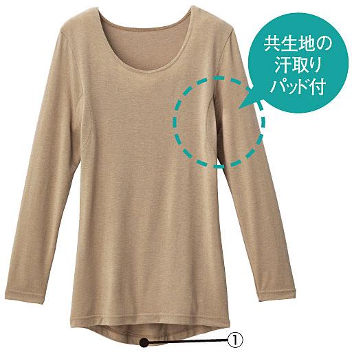 赛诗丽(CECILE)SmartHeat®BASIC   8分袖腋下吸汗上衣(窄圆领)