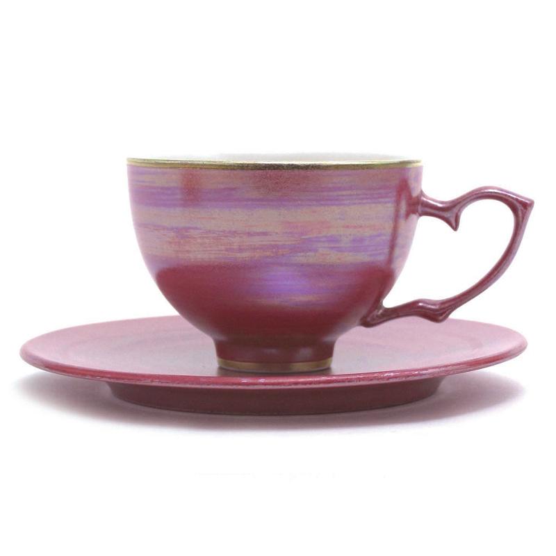 红瓷茶杯&茶托