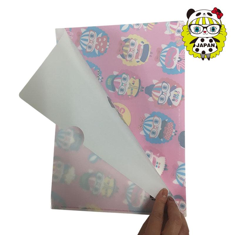 (日本馆开业纪念特卖品)<br/>LALALACOCO A4文件夹 5枚装
