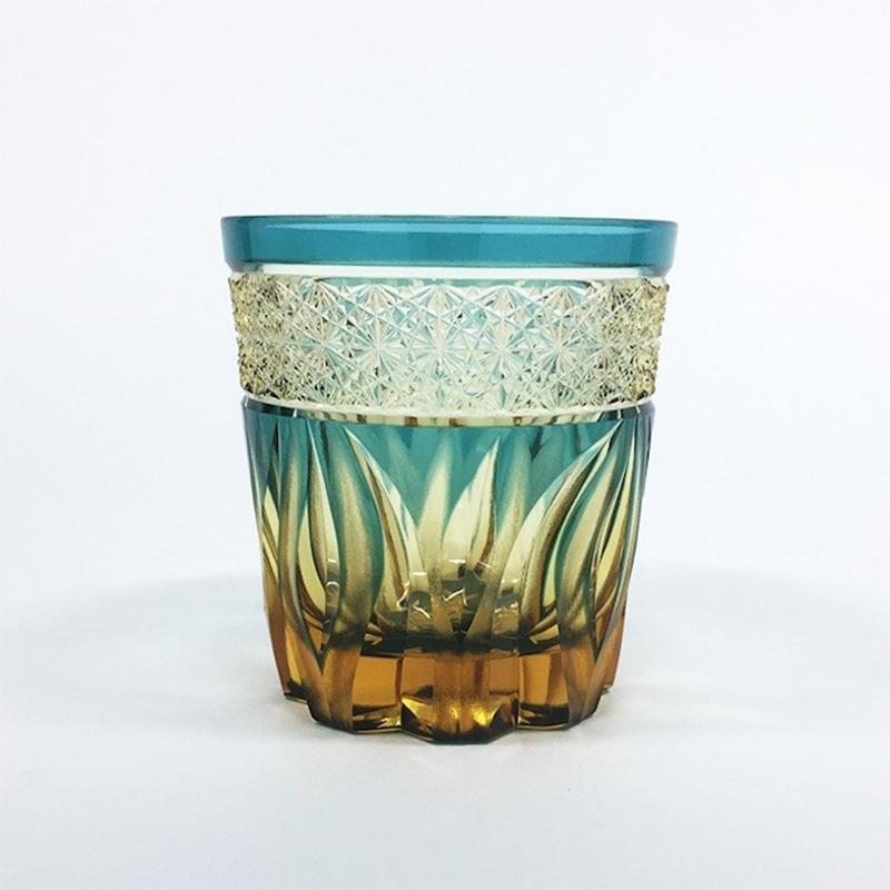 HIBANA火华深绿色(玻璃杯)