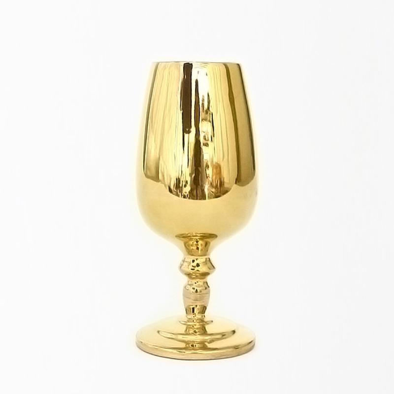 黄金瓷迷你葡萄酒杯