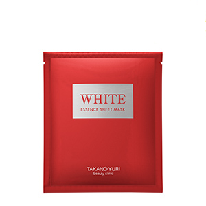 高野友梨(TAKANO YURI) 药用White精华面膜 6片