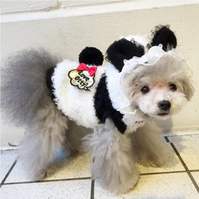 Otty Love Otty兔子和熊猫软绵绵套衫