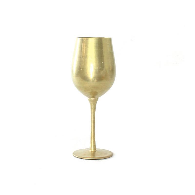 限量版    王者系列葡萄酒杯(黄金釉)