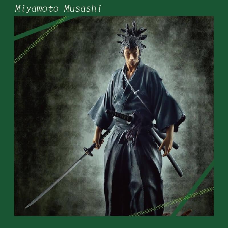 浪人 剑术家 宫本武藏 限量版手办(The spirit collection of Inoue Takehiko)
