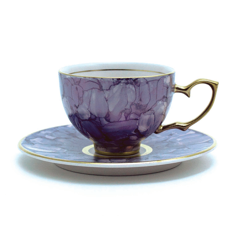 Lapis Lazull青金岩大理石系列茶杯&茶托