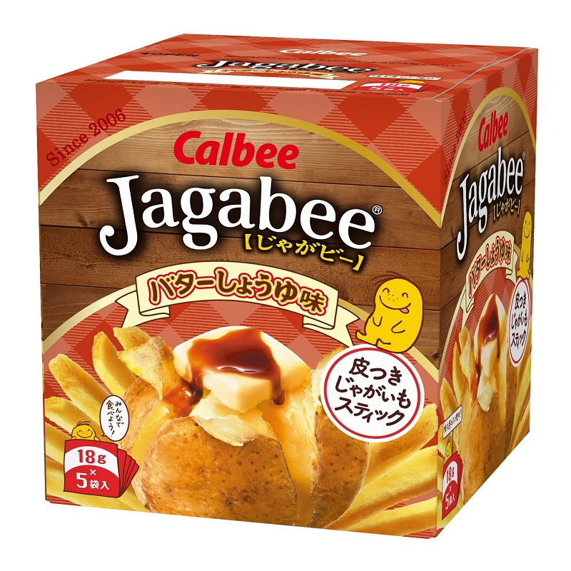 Jagabee【卡乐比】 黄油酱油味