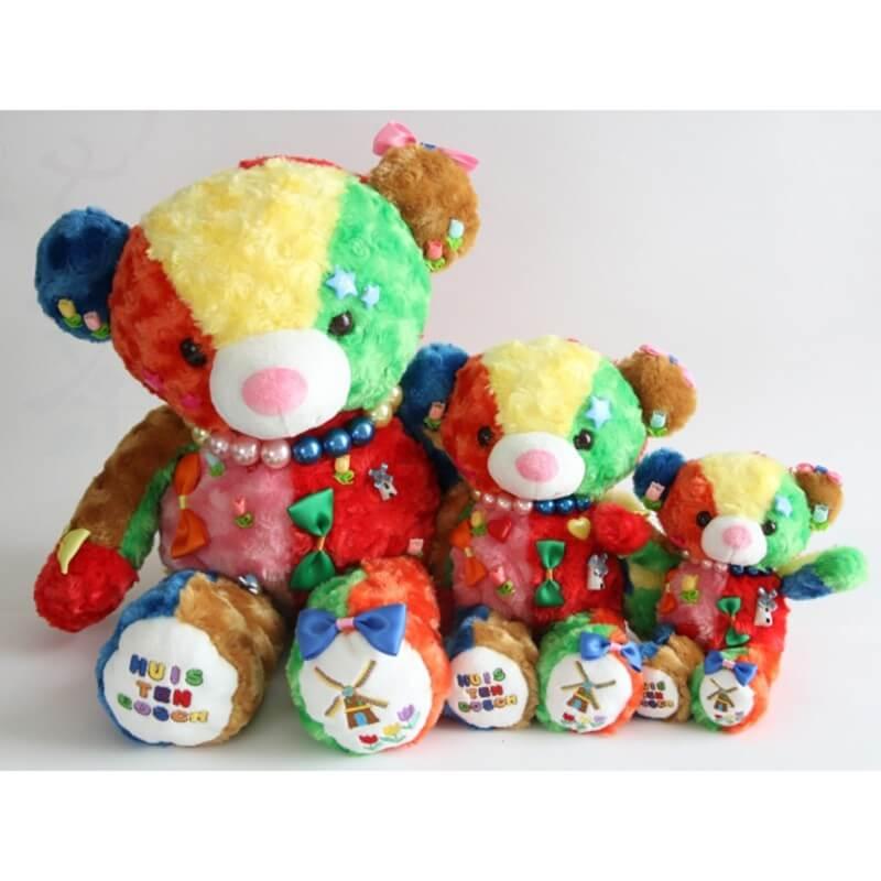 豪斯登堡 七彩花熊