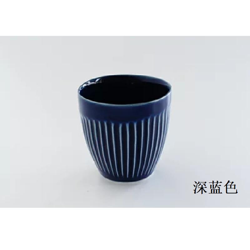 波佐见烧  茶杯(杯子)深蓝色