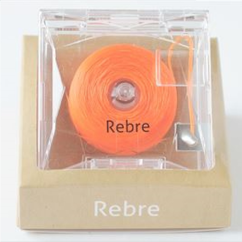 Rebre橙色卷式香水牙线蜂蜜+苹果味50米