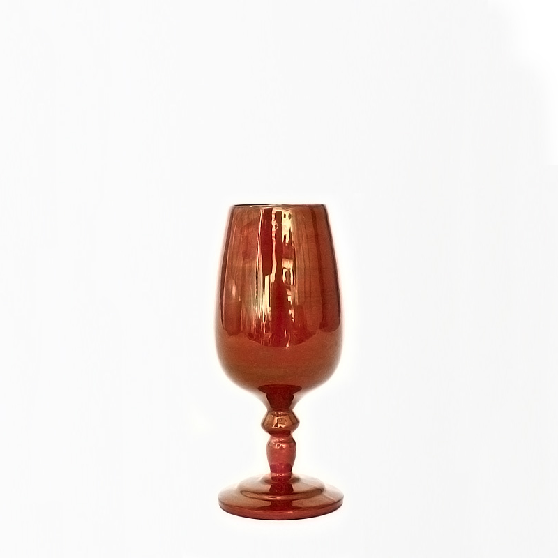 赤金瓷迷你葡萄酒杯