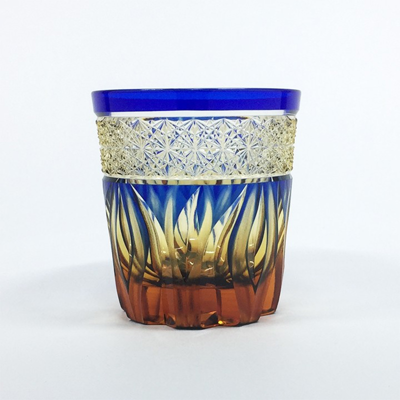 HIBANA火华深蓝色(玻璃杯)