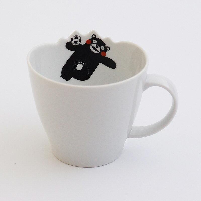 波佐见烧  微波马克杯 熊本熊
