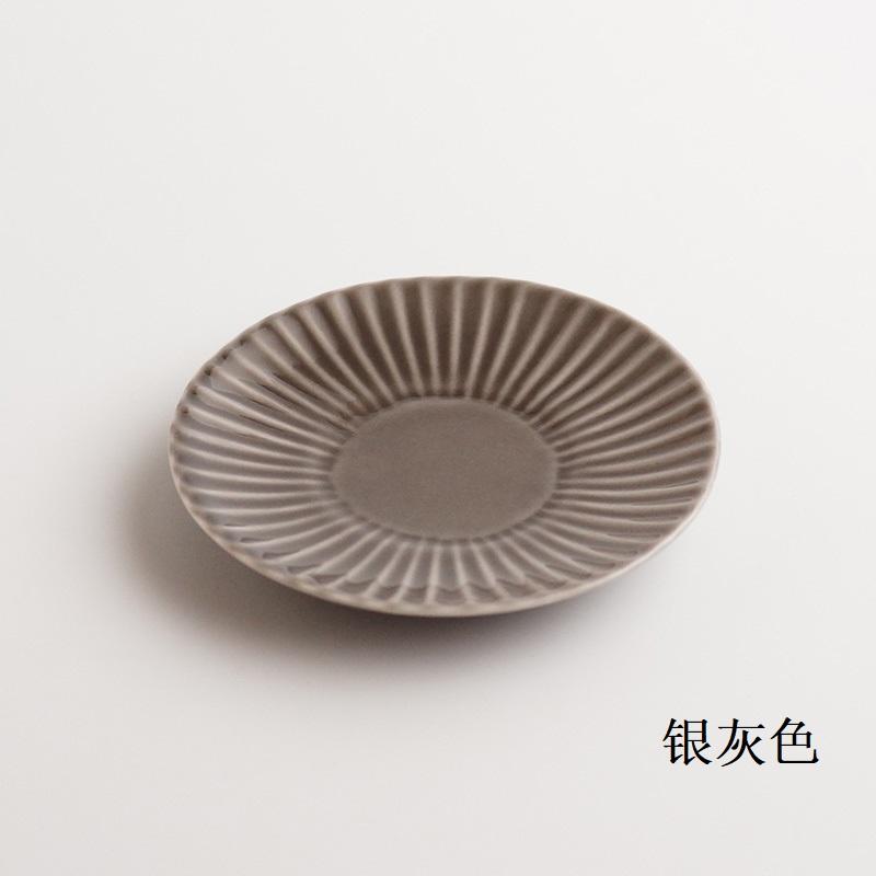 波佐见烧 镐 盘子(小)银灰色